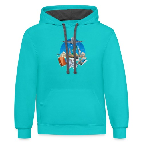Holiday t-shirt - Contrast Hoodie