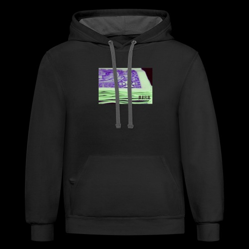 Another day another dollar MAFIA - Contrast Hoodie