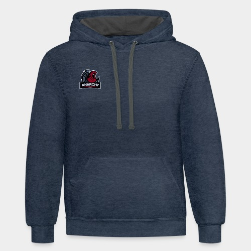 Official LoA Logo - Unisex Contrast Hoodie