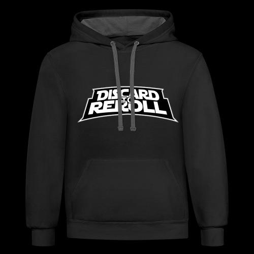 Discard to Reroll: Reroller Swag - Unisex Contrast Hoodie