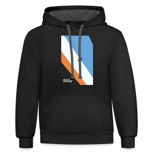 ENTER THE ATMOSPHERE - Unisex Contrast Hoodie