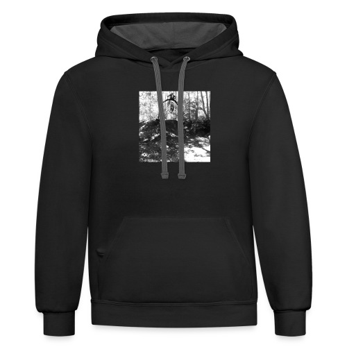 The no-footer - Unisex Contrast Hoodie