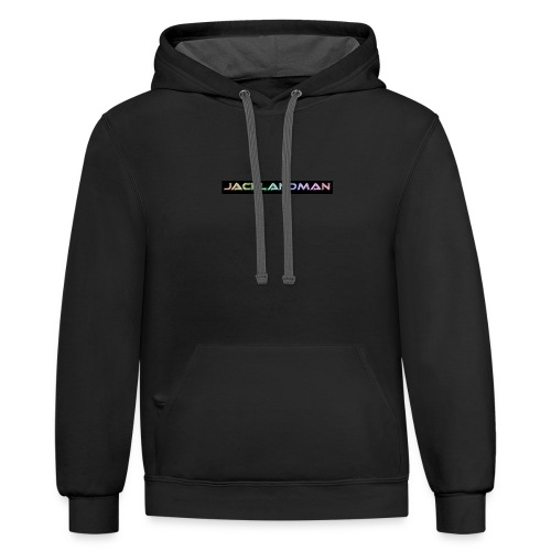 awesome merch - Unisex Contrast Hoodie