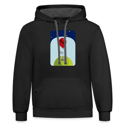 dreams balloon and society 2018 - Contrast Hoodie
