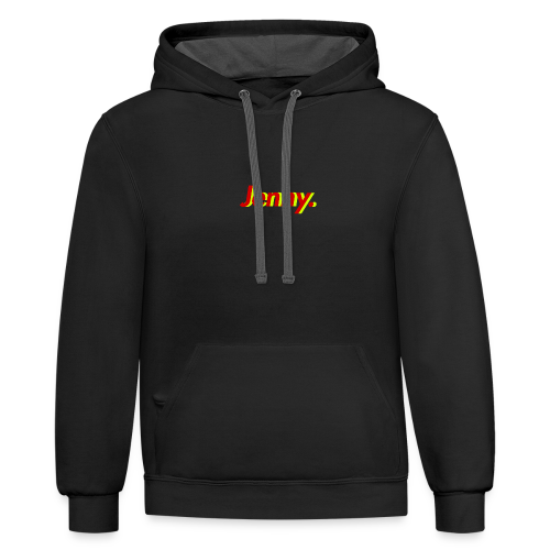 The Cover - Contrast Hoodie