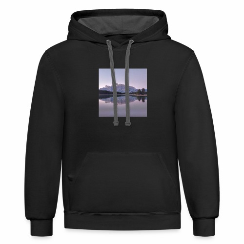 Rockies with sleeves - Contrast Hoodie