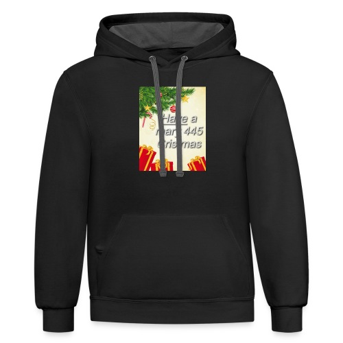 Have a Mary 445 Christmas - Contrast Hoodie