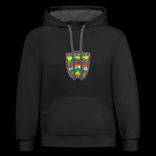 The Lunch Box - Unisex Contrast Hoodie