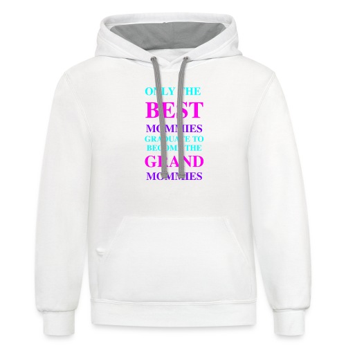 Best Seller for Mothers Day - Contrast Hoodie
