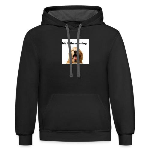 doggo - Contrast Hoodie