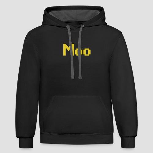 Moo - Unisex Contrast Hoodie