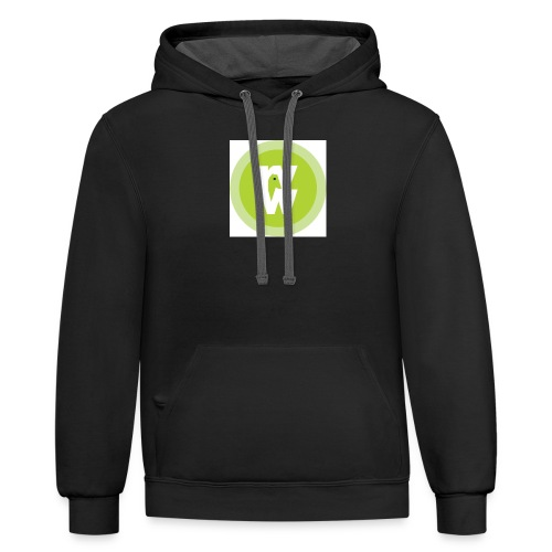 Recover Your Warrior Merch! Walk the talk! - Contrast Hoodie