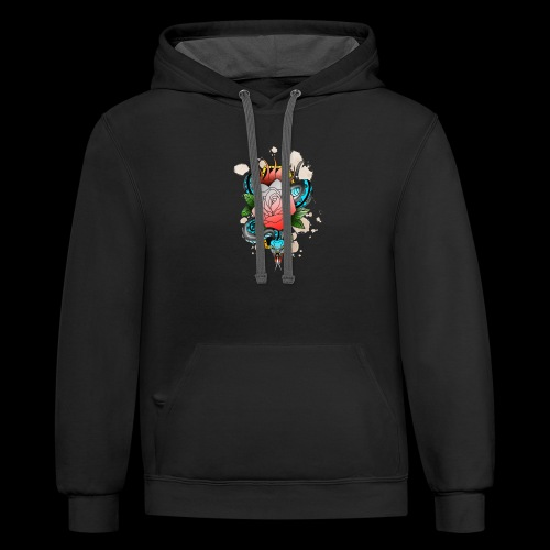 Slither - Unisex Contrast Hoodie