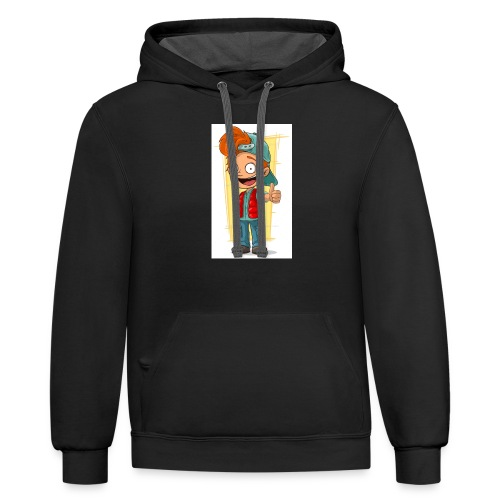 DEATH EATER OFFICIAL MERCH! - Unisex Contrast Hoodie