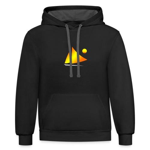 sailing - Contrast Hoodie