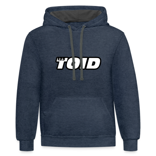 123Toid Custom Audio and Speaker Design - Contrast Hoodie