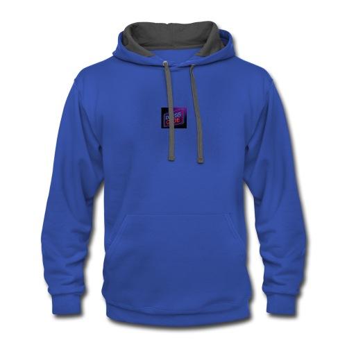 wear this to school - Contrast Hoodie