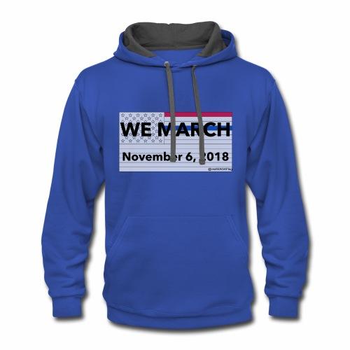 WeMarch11062018 - Contrast Hoodie
