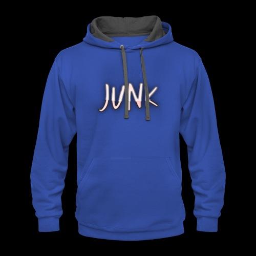 junk contrast hoodie - Contrast Hoodie
