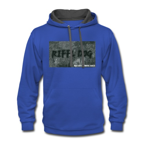 RIFFLE DOG MOUSE PADS - Contrast Hoodie