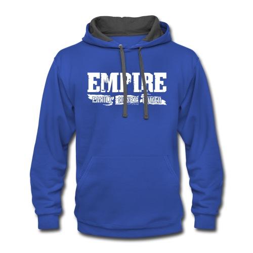 Empire Family Money Power - Contrast Hoodie