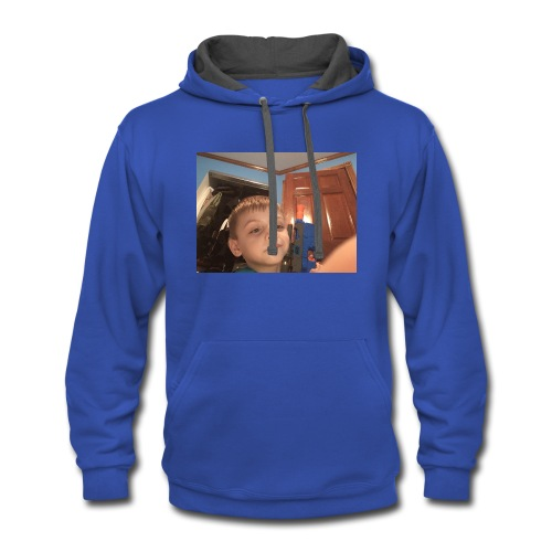 Eric the gamer - Contrast Hoodie