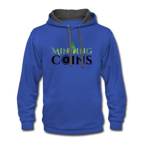 Minting Coins - Contrast Hoodie
