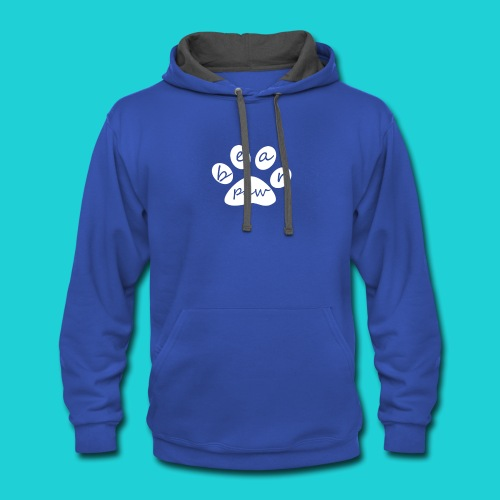 paw - Contrast Hoodie