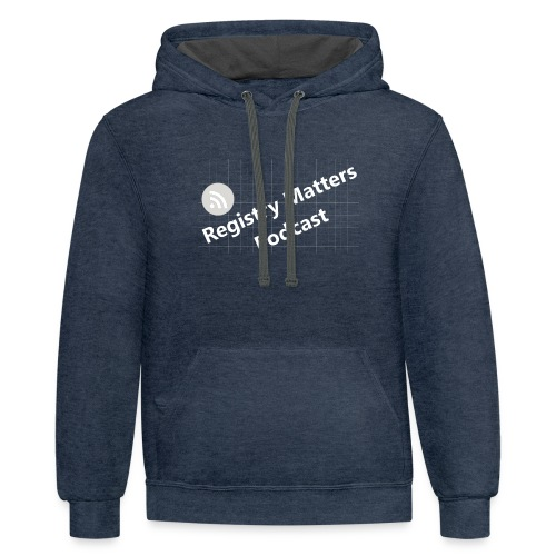 Registry Matters Podcast - Contrast Hoodie