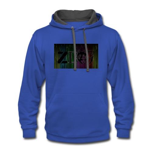 ZDOG upgraded verison - Contrast Hoodie