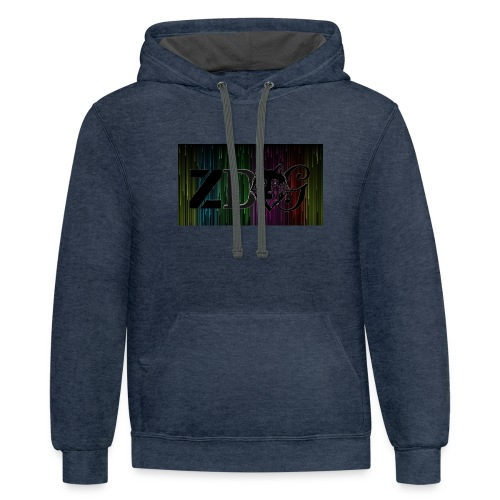 ZDOG upgraded verison - Contrast Hoodie