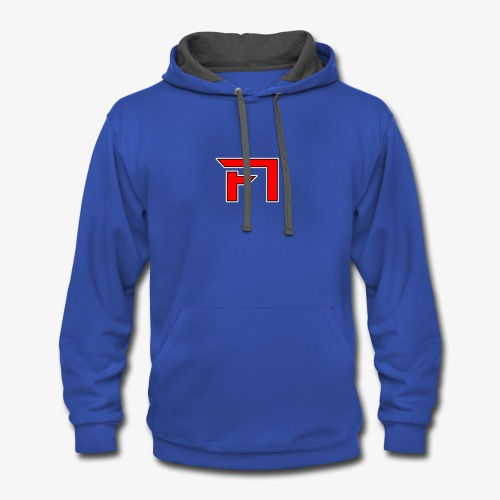 F1 Logo - Contrast Hoodie