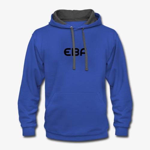 Emmet's Best Friend(my friends merchandise) - Contrast Hoodie