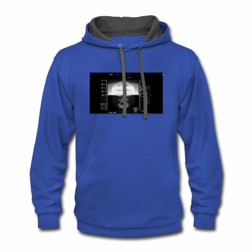 Aircraft Instrument - Contrast Hoodie