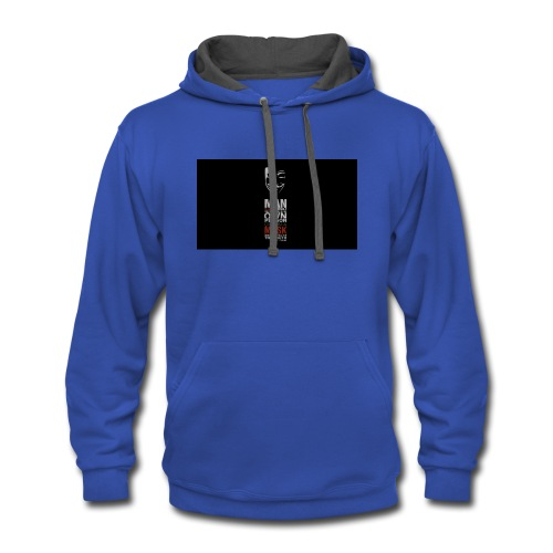Anonymous tag - Contrast Hoodie
