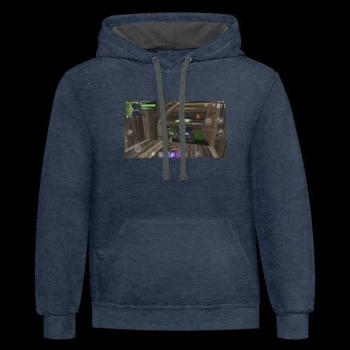 The gaming shirt - Contrast Hoodie