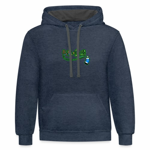 BenEscooter Logo - Contrast Hoodie