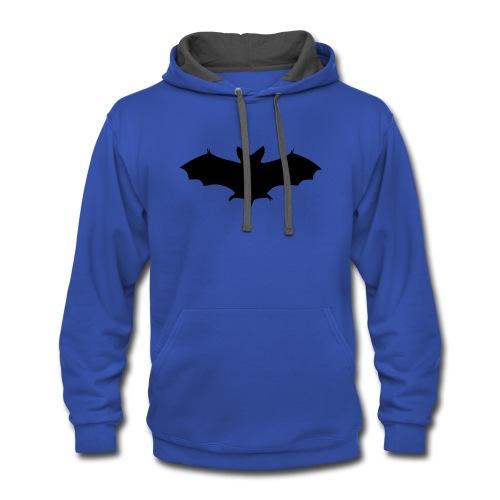 Halloween Bat - Contrast Hoodie