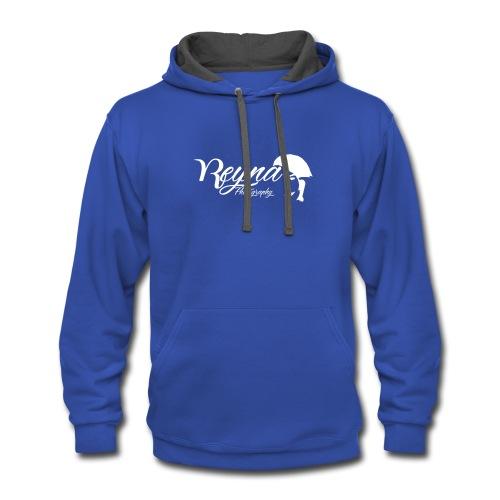 Reyna Dark Cloths with logo - Contrast Hoodie