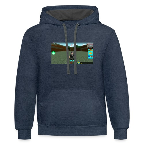 roblox merch - Contrast Hoodie