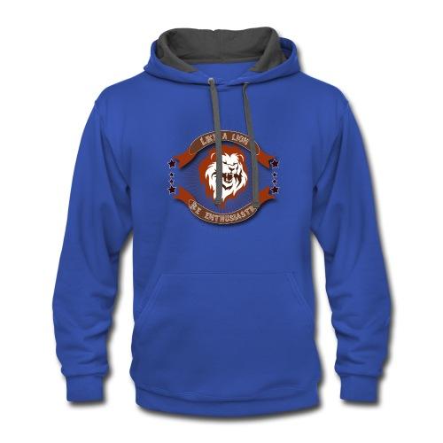 Lion t-shirt - Contrast Hoodie