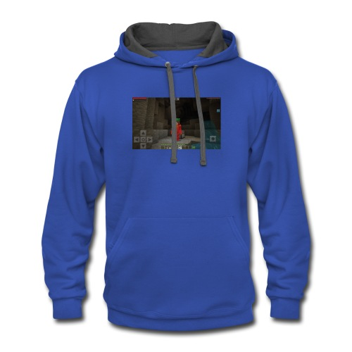 Playing - Contrast Hoodie