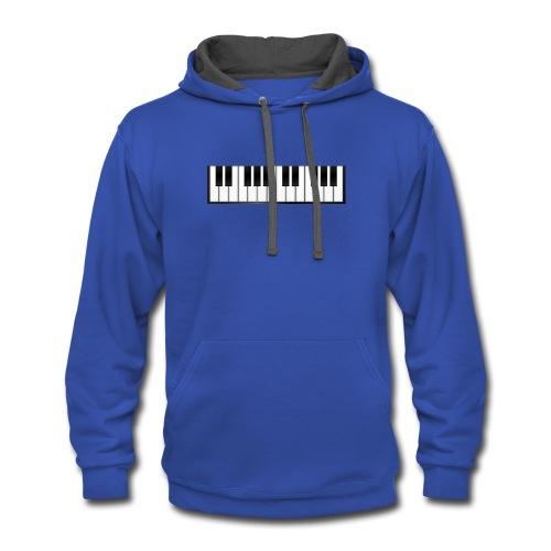 mateopianist24 hoodie - Contrast Hoodie
