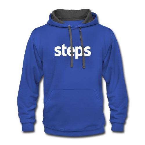 Steps - Contrast Hoodie