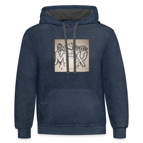IN THE MIX LOGO - Contrast Hoodie