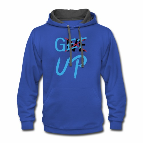 Get UP Motivation T-shirts - Contrast Hoodie