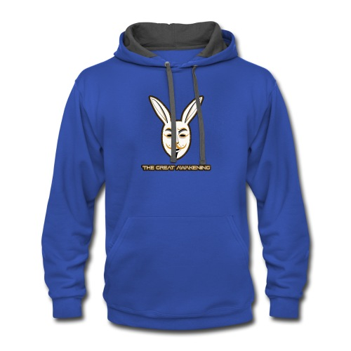 Bunonymous THE GREAT AWAKENING - Contrast Hoodie