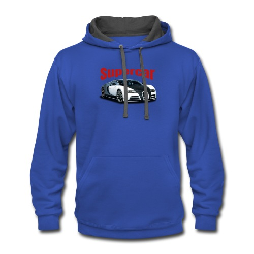 Supercar - Contrast Hoodie