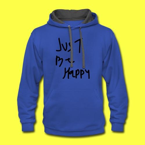 justbehappy - Contrast Hoodie