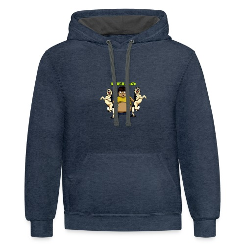 funny Boy - Contrast Hoodie